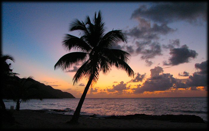 beach sunset pictures. Sunset @ Carambola St Croix