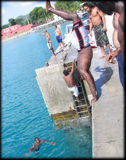 Diving @ Frederiksted pier - Fredriksted
